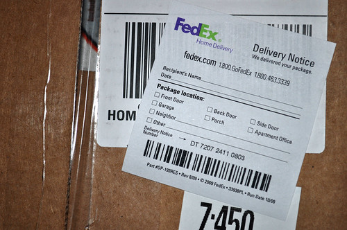 FedEx Is F-ing With My Head