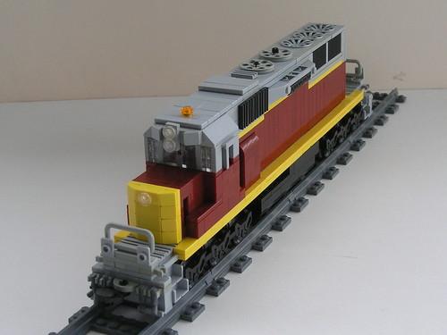 OC SD40-2