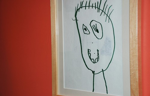 child self portrait