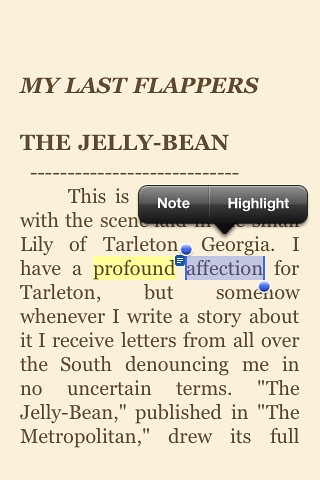Kindle Highlight