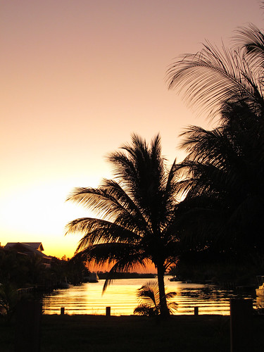 Placencia at Sunset