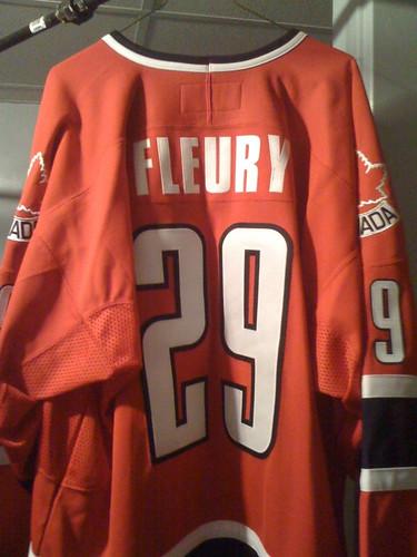 Fleury WJC jersey