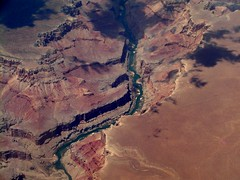 Grand Canyon from an airplane