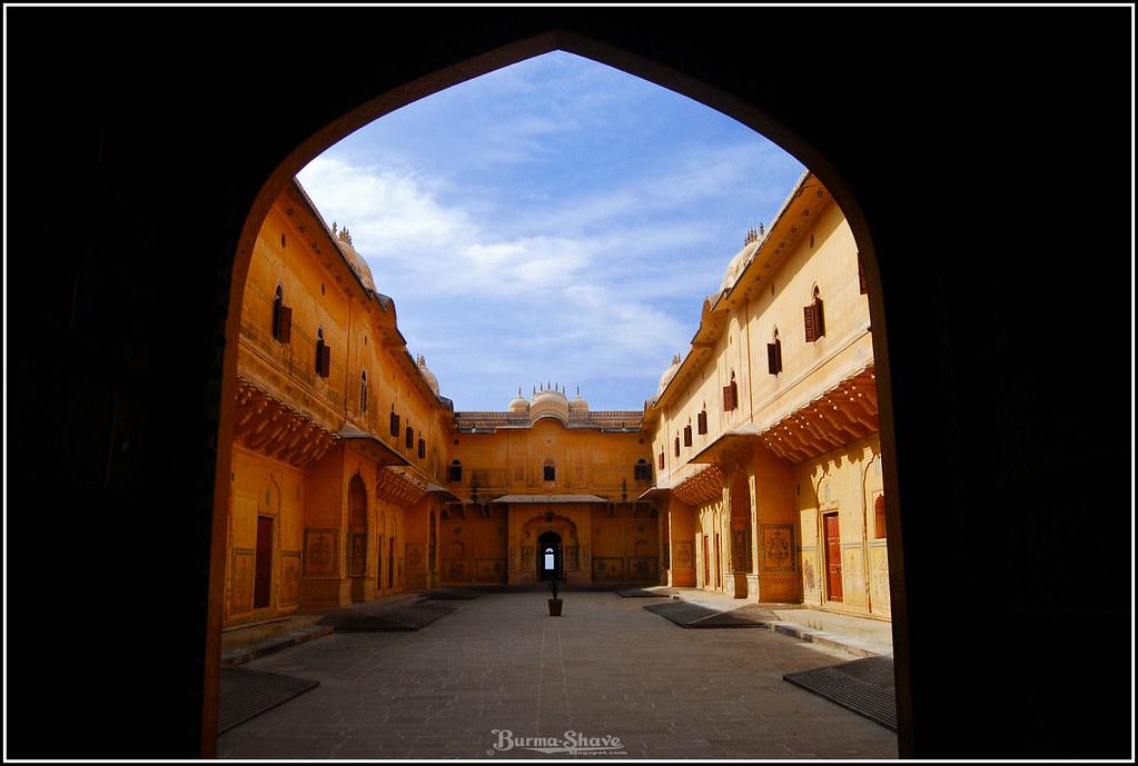 Courtyard, Madhavendra Bhavan
