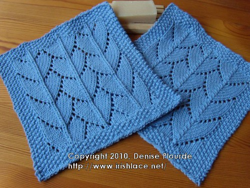 lacy dragon large scale washcloths