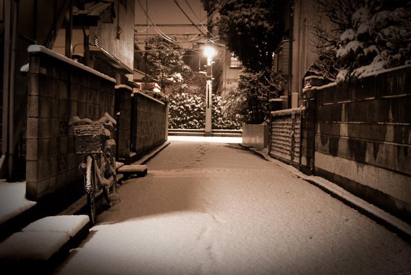 Meguro snow street_6986