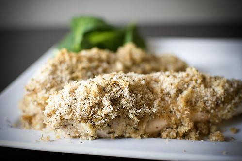 Crunchy Parmesan-Crumbed Chicken