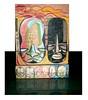 FACE 01 (. ♦ F L F ♦ .) Tags: peace buddha monk tibet caixa meditation ilustration grafite franciscofreitas