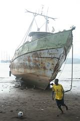 Limbe (WithoutFins) Tags: abandoned football ship cameroon 2010 limbe