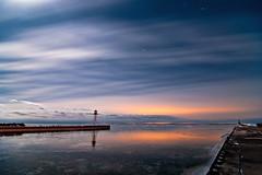 K20D4241 (Bob West) Tags: longexposure nightphotography winter lighthouse ontario ice night clouds lakeerie greatlakes fullmoon moonlight nightshots startrails erieau 12c southwestontario bobwest k20d pentax1224 eastlighthouseerieau gaju2810