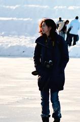 G (1-2-3 cheese) Tags: winter snow girl speed washingtondc nikon streetshot d80 nikond80 chuplen