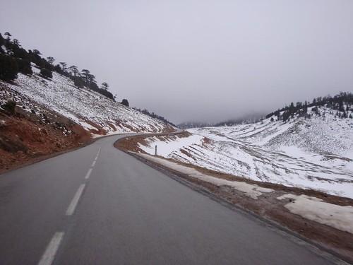 Viagem de Azrou até Erfoud, Marrocos
