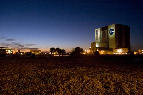 VAB at Twilight