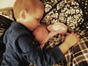 Ethan && Alyssa (Britty McG) Tags: toddler kiss newborn andbaby