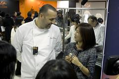 Philippe Bernachon, Salon du Chocolat Tokyo 2010, Shinjuku Isetan