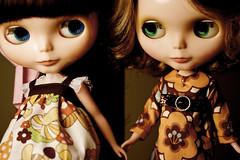 Olive and Françoise make friends ...