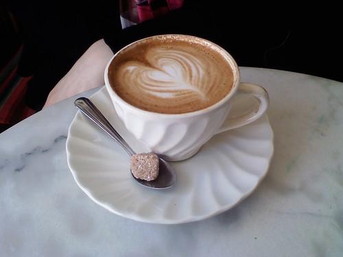 true love is a cappuccino