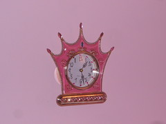PRINCESS CLOCK FOR A PRINCESS (Petticoat Brenda) Tags: pink clock princess sissy