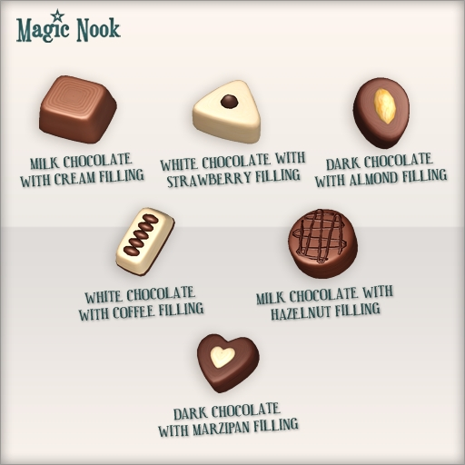 [MAGIC NOOK] Chocolate Box - Full assortment