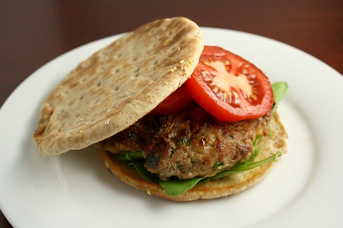 Spicy Turkey Burger