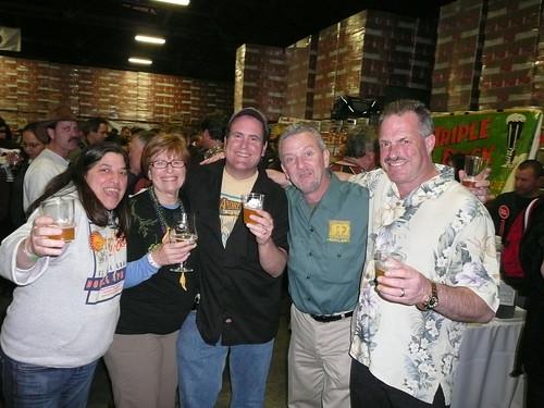 Betsy, Judy Ashworth, Mitch Steele, Brendan Moylan & Bruce Paton