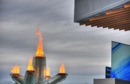 Olympic cauldron HDR
