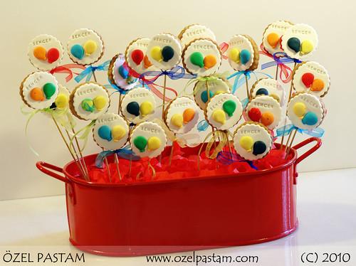 Balonlu Kurabiyeler / Baloon Cookies