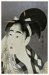 woman-wiping-sweat-japanese-print