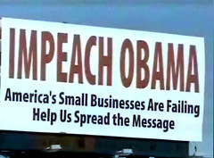 Wisconsin Billboard Calls for Obama's Ouster