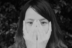 [フリー画像] [人物写真] [女性ポートレイト] [アジア女性] [モノクロ写真]       [フリー素材]