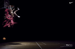 New 'Moulin Rouge' Nike Town Ad (Jeremy Waite) Tags: nike moulinrouge burlesque branding punkbranding