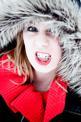 7/52 (Pawel Trybulski) Tags: blue red portrait eyes coat teeth anger themered week7pix 525of2010