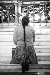 Ave Mara (organiq) Tags: people blackandwhite bw blancoynegro church mxico mexico mujer women gente minolta praying iglesia bn blancinegre losremedios naucalpan rezando maxxum5d organik estadodemxico