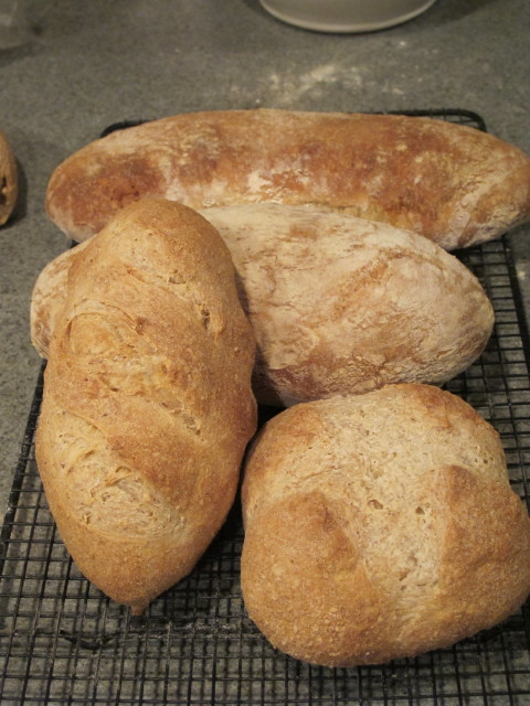 It was ciabatta this weekend!