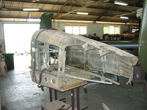 AHSNT B25 Tailcone Under Construction March 2003
