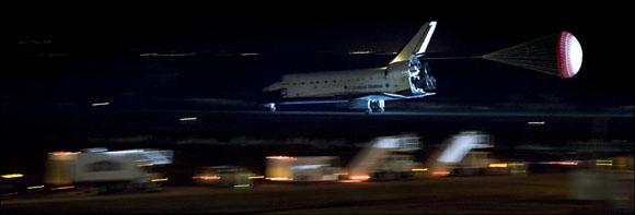Aterrizaje del Endeavour, misión STS-130