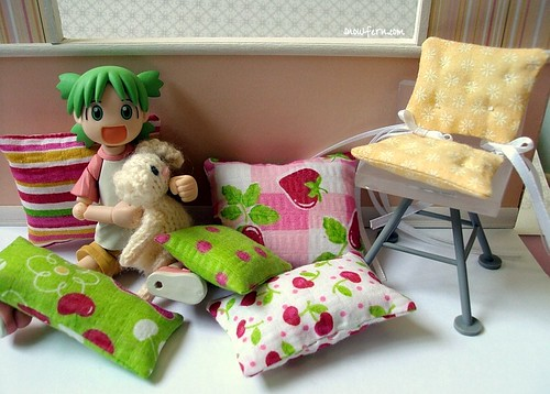 yotsuba prefers the floor