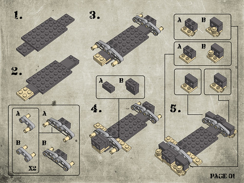 Flickriver Photoset Humvee Instructions By Legohaulic