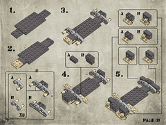 Page 01 (Legohaulic) Tags: lego military instructions humvee cad mlcad ldview