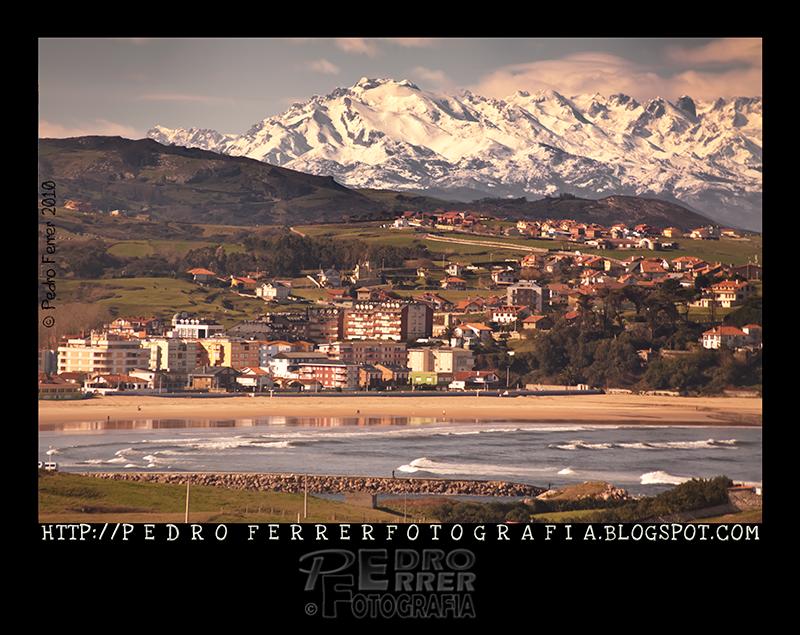 Suances - Playa de La Concha - Mar y Montaña