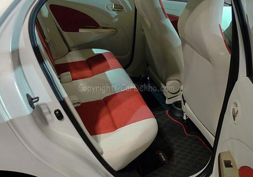 Toyota Etios Rear Seats Interior Photo
