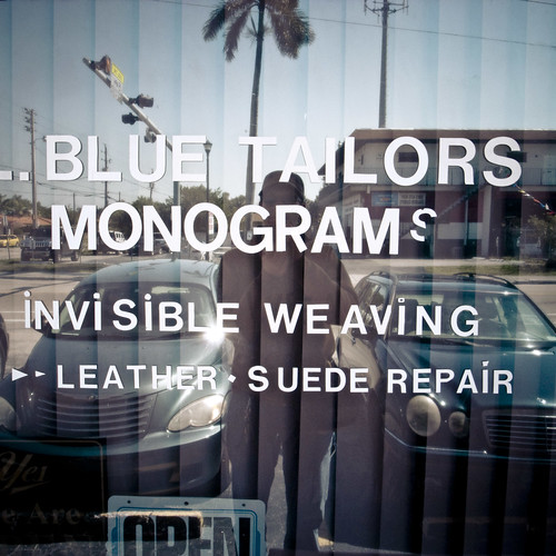 Blue Tailor Monograms, Miami 2010
