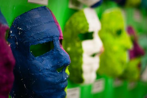 Mascaras en Cautiverio
