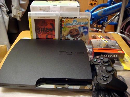 PS3 250G Slim 主機特惠包