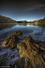Arklet Rocks (3) (Shuggie!!) Tags: winter reflection ice water landscape scotland williams karl loch trossachs hdr aberfoyle arklet saariysqualitypictures karlwilliams