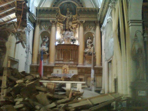 Santuario el Carmen en Curicó deberá ser demolido por graves daños tras terremoto