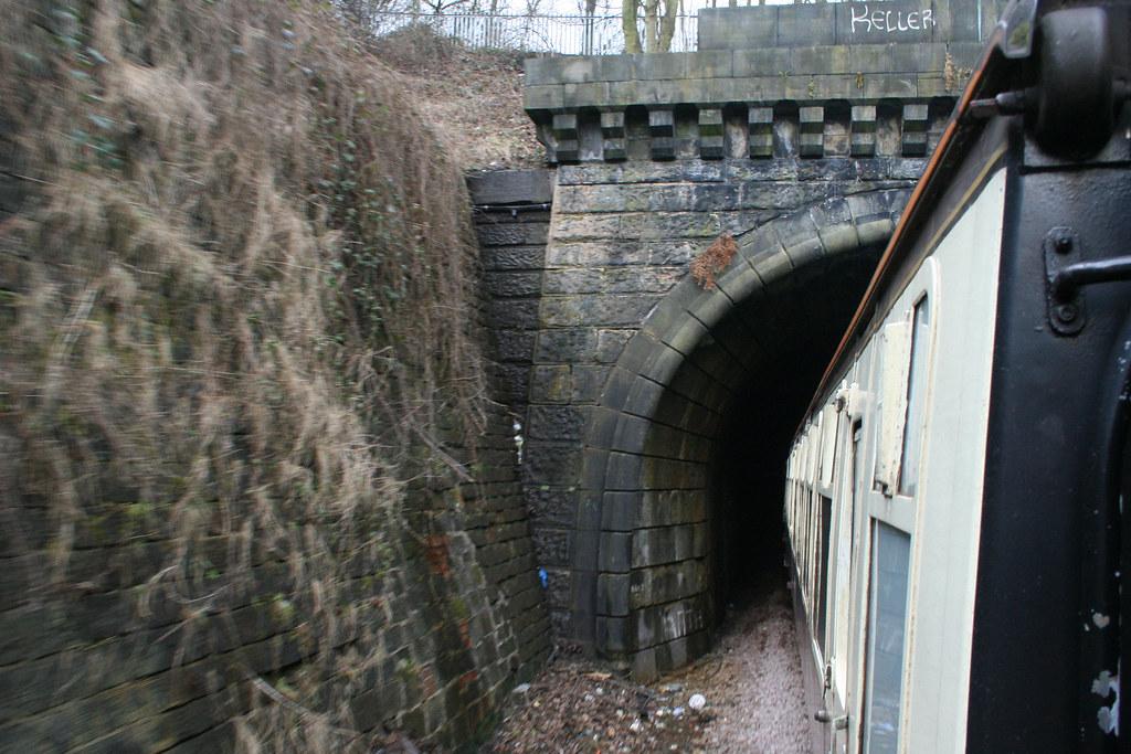 Entering Shildon Tunnel