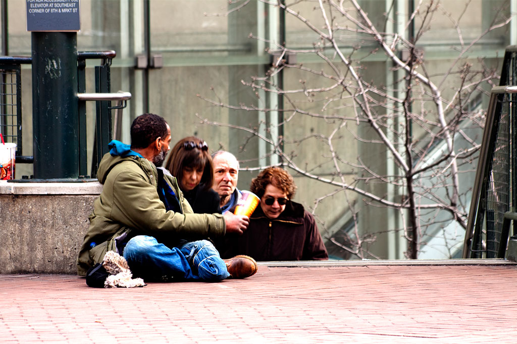 One-legged-man-begging--Center-City