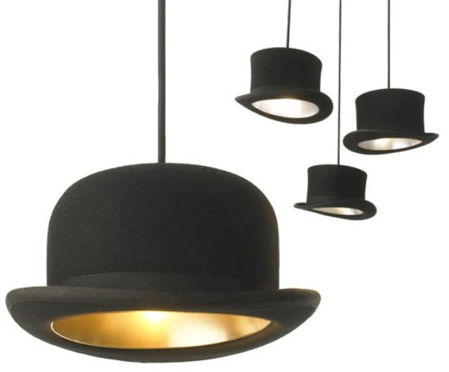 Top-Hat-Pendant-Lights