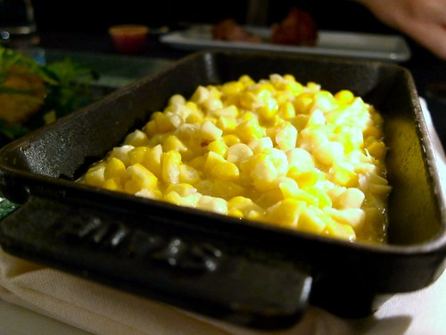 Creamed Corn at The Foundry on Melrose